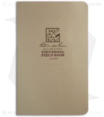 "Rite In The Rain Field Flex Universal 4.50"" x 7.25"" Notebook (Tan) #974T"
