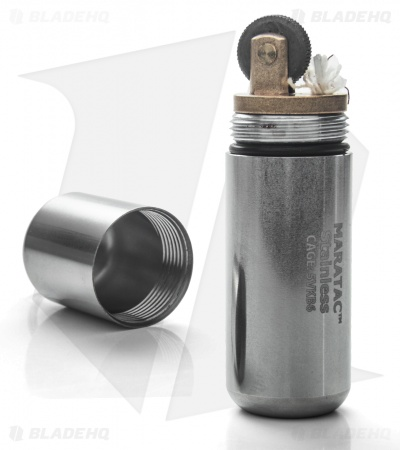 Maratac Stainless Steel Peanut Lighter XL