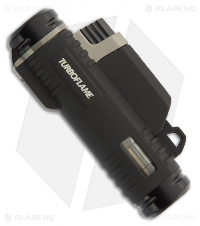Turboflame Ranger Flame Gas Lighter Black  21091