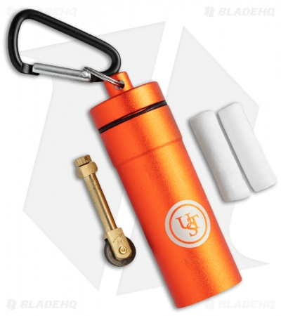 UST Stoke Kit Fire Starter & Tinder Orange Metallic