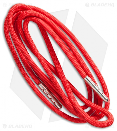 Wasatch Outdoors Survival Fire Starter Paracord Hoodie Cord (Red)