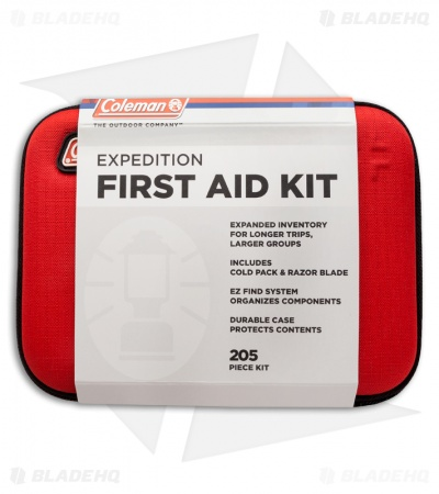 Coleman Expedition First Aid Kit (205 Piece)