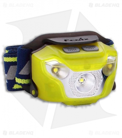 Fenix HL26R Rechargeable Trail Running Headlamp Flashlight Cree XP-G2R5 (Yellow)