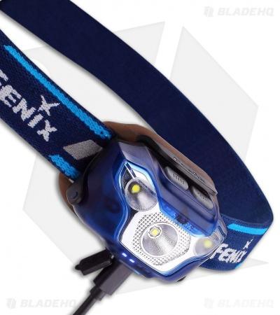 Fenix HL26R Rechargeable Trail Running Headlamp Flashlight Cree XP-G2 R5 (Blue)