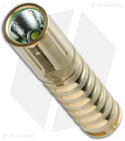 Lumintop Worm AAA Flashlight Brass Cree XP-G2 (R5) LED (110 Lumens)