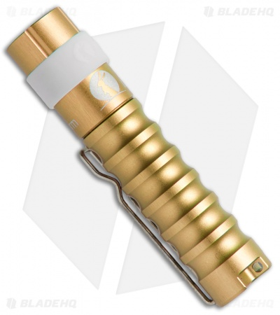 Lumintop Worm AAA Flashlight Gold Cree XP-G2 (R5) LED (110 Lumens)