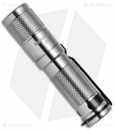Maratac Polished Titanium AA LED Flashlight REV 1 (205 Lumens)