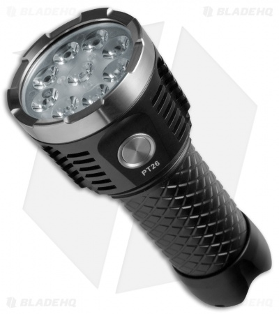 MecArmy PT26 Black Aluminum Flashlight CREE XP-G2 S4 (3850 Lumens)