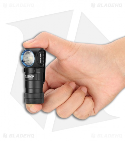 Olight H1 Nova Black/Blue Headlamp Cool White Cree XM-L2 LED (500 Lumens)