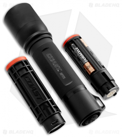 Coast HP7R Focusing Beam Rechargeable LED Flashlight (201 Lumens)