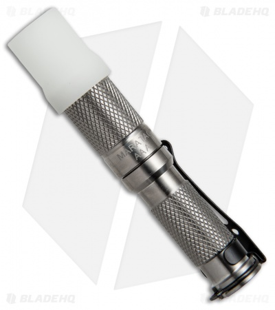 Maratac Polished Titanium AAA LED Flashlight REV 4 (145 Lumens)