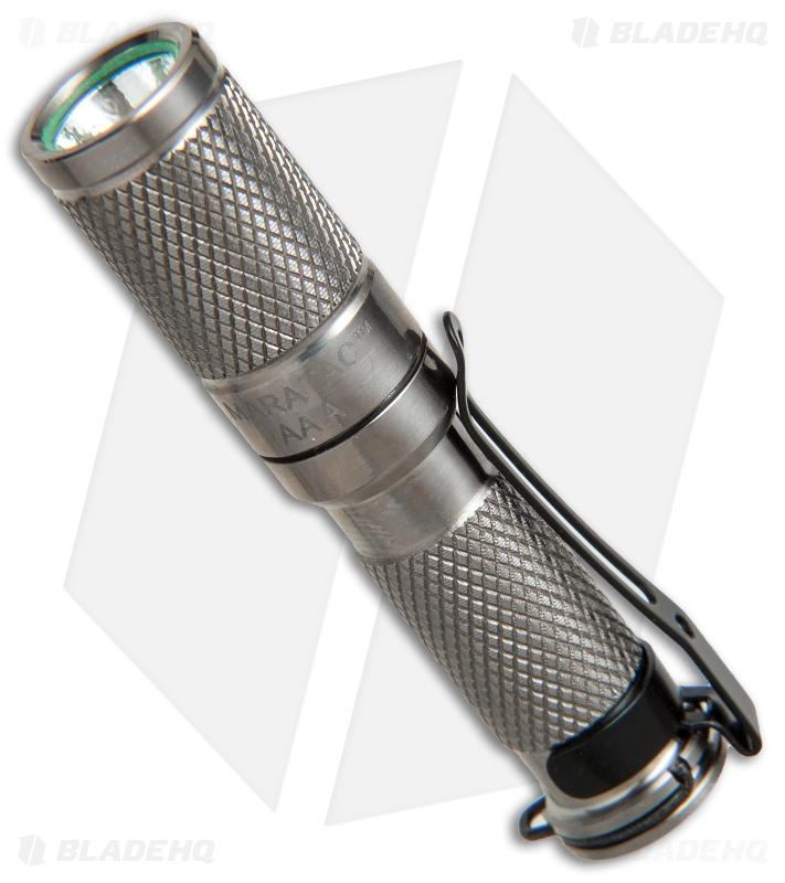 Maratac Polished Titanium Aaa Led Flashlight Rev 4 145