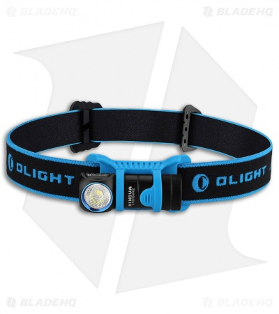 Olight H1 Nova Black/Blue Headlamp Neutral White Cree XM-L2 LED (500 Lumens)