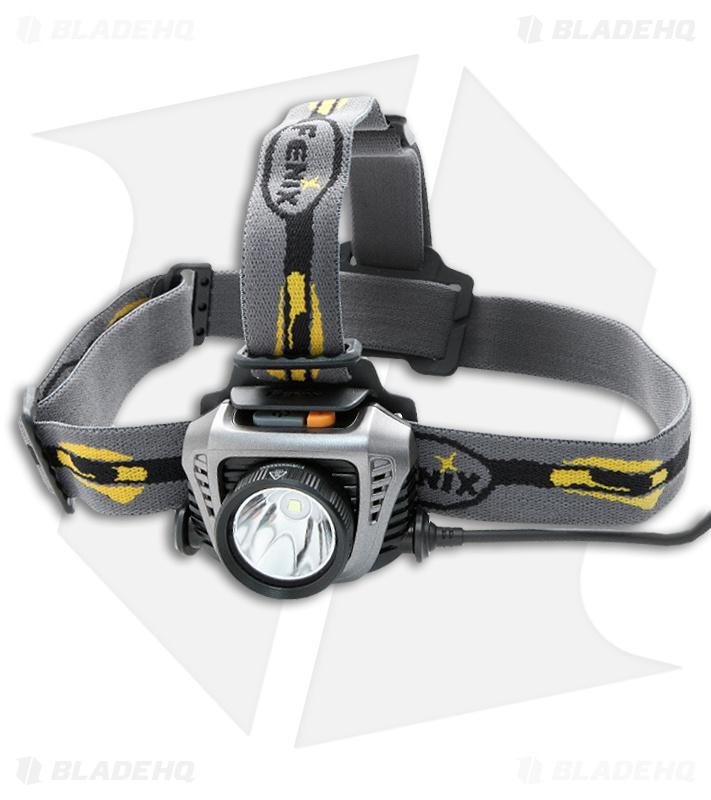 Fenix HP30 Headlamp Flashlight XM-L2 LED Iron Grey (900 ...