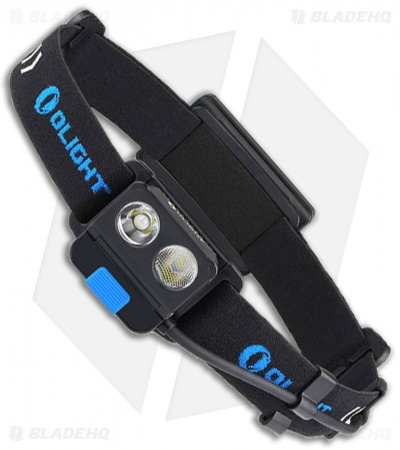 Olight H16 Wave Rechargeable Variable-Output Dual Led Headlamp (500 Lumens)