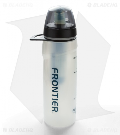 Aquamira Frontier Flow Water Filter Bottle GRN Line (0.5 L)