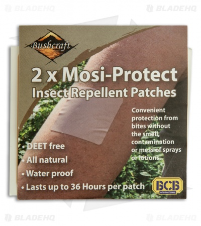 Bushcraft Defend Insect Repellent Patches CL131