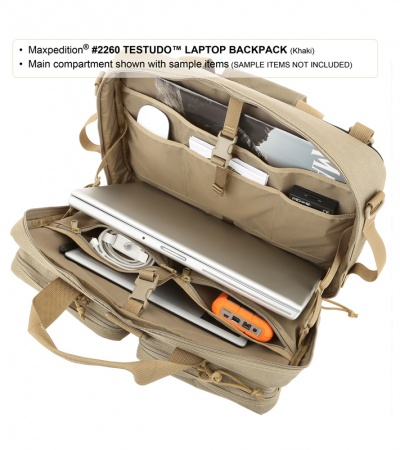 "Maxpedition Testudo Laptop Case Black Bag 2260B (17"")"