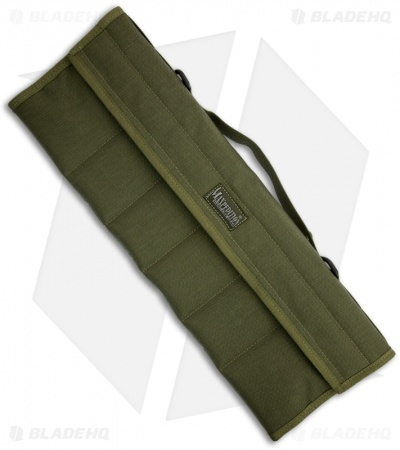 Maxpedition Dodecapod 12-Knife Carry Case OD Green Storage Pouch 1461G