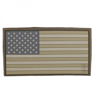 "Maxpedition Large 3.25"" x 1.75"" USA Flag Patch (Arid) USA2A"