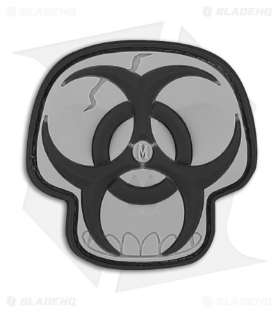 "Maxpedition 2"" x 2"" Biohazard Skull PVC Patch (SWAT)"