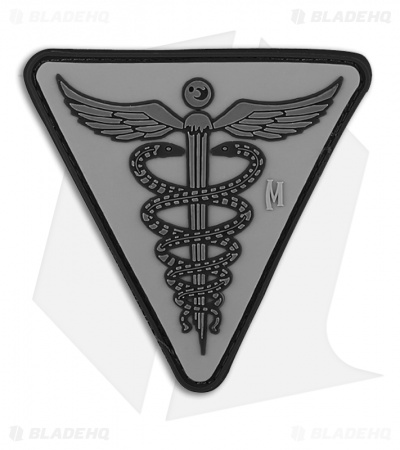 "Maxpedition 2.5"" x 2.5"" Caduceus Morale PVC Patch (SWAT)"
