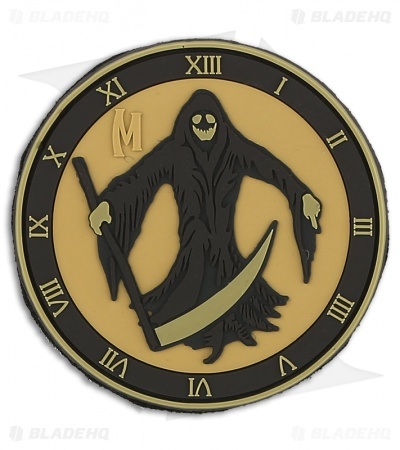 "Maxpedition 3"" x 3"" Grim Reaper Morale PVC Patch (Arid)"