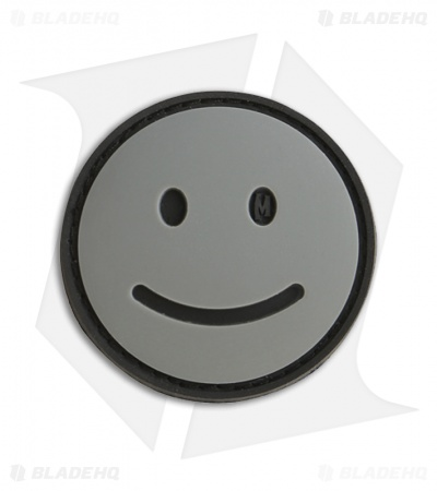 "Maxpedition 1.5"" x 1.5"" Happy Face Morale PVC Patch (SWAT)"
