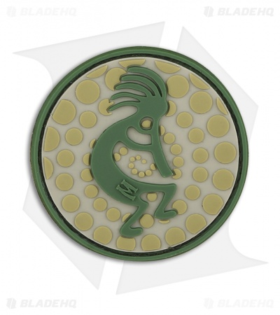 "Maxpedition 2"" x 2"" Kokopelli Morale PVC Patch (Arid)"
