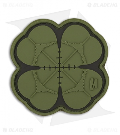 "Maxpedition 2"" x 2"" Lucky Shot Clover Morale PVC Patch (Full Color)"