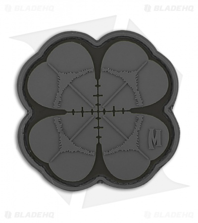 "Maxpedition 2"" x 2"" Lucky Shot Clover Morale PVC Patch (SWAT)"