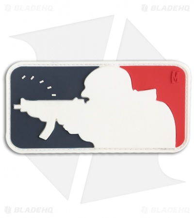 "Maxpedition 3"" x 1.5"" Major League Shooter Morale PVC Patch (Full Color)"