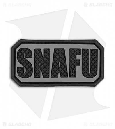 "Maxpedition 2"" x 1"" SNAFU Morale PVC Patch (SWAT)"
