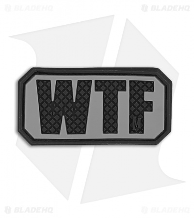 "Maxpedition 2"" x 1"" WTF Morale PVC Patch (SWAT)"
