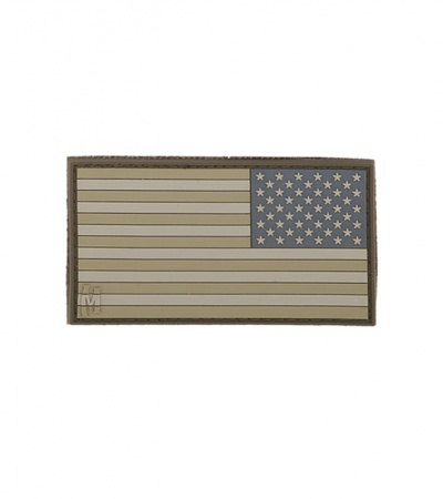 "Maxpedition Small 2"" x 1"" Reverse USA Flag Patch (Arid) US1RA"