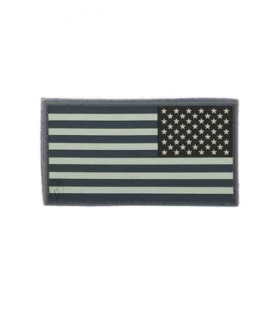 "Maxpedition Small 2"" x 1"" Reverse USA Flag Patch (SWAT) US1RS"