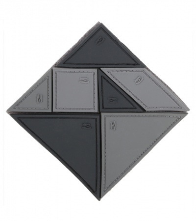 "Maxpedition 3"" x 3"" Tangram 7-Piece Patch Puzzle (SWAT)"