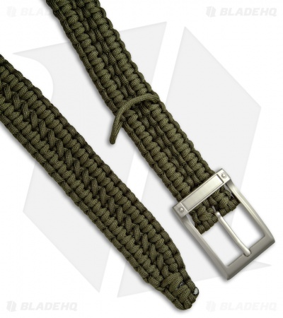 Stone River Gear 550 Paracord Belt - Green