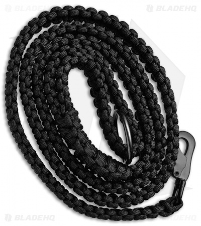 Stone River Gear 550 Paracord Dog Leash (Green/Black)