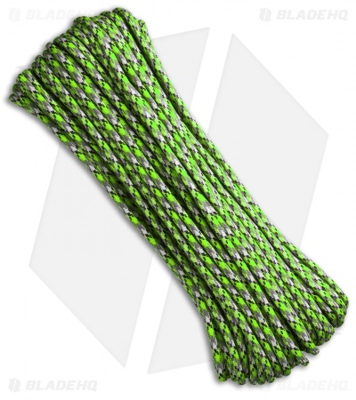 Atwood Rope Mfg. 550 Lb. Paracord 100 Ft. Zombie Edition (Bio-Sludge)