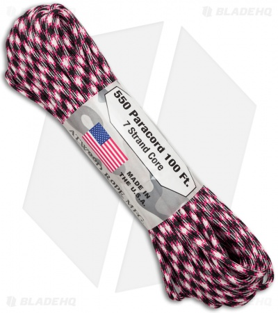 Atwood 550 Lb. Paracord 100 Ft. 7 Strand Core (Girls Night) RG1077H