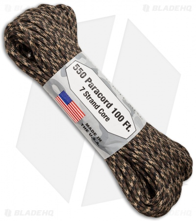 Atwood 550 Lb. Paracord 100 Ft. 7 Strand Core (Ground War) RG1049H