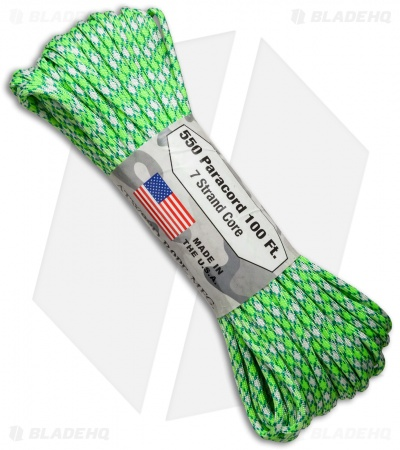 Atwood Rope Mfg. 550 Lb. Paracord 100 Ft. 7 Strand Core (Island) RG1079H