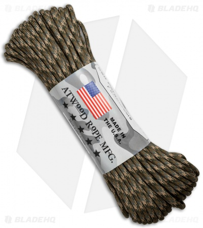 Atwood Rope Mfg. 550 Lb. Paracord 100 Ft. 7 Strand Core (Recon) RG1051H