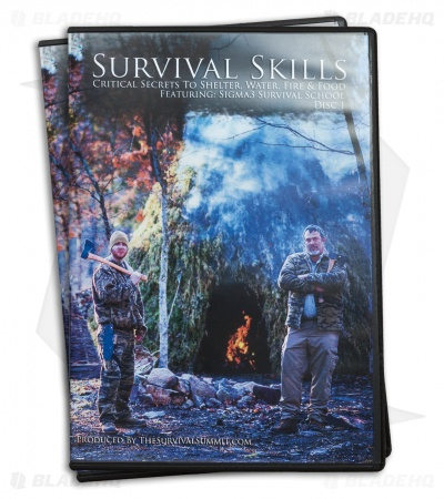 The Survival Summit Survival Skills DVD Disc 1 and 2