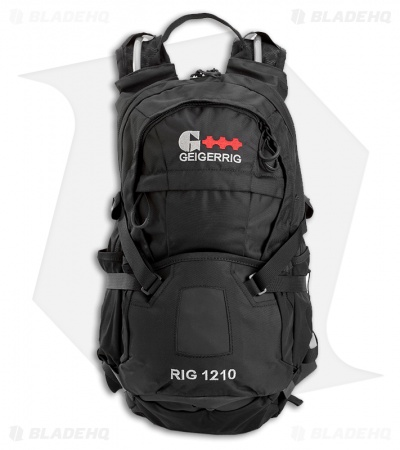 Geigerrig RIG 1210 Black Hydration Pack w/ 100 oz. Bladder