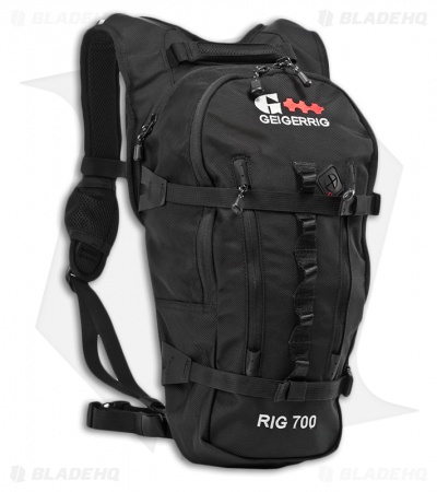 Geigerrig RIG 700 Black Ballistic Hydration Pack w/ 70 oz. Bladder