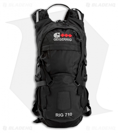 Geigerrig RIG 710 Black Hydration Pack w/ 70 oz. Bladder