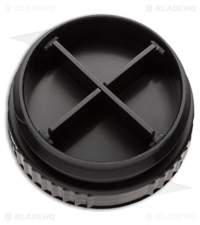 Pillid Water Bottle Lid Black (Pill-Lid)