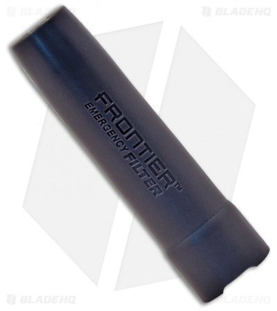 Aquamira BLU Frontier Straw Water Filtration Device 67005